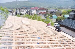 ⑦-1屋根仕舞-W700
